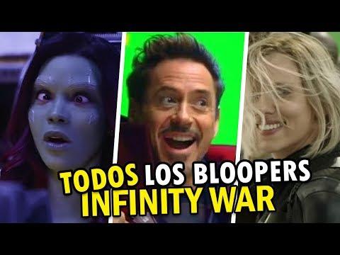 TODOS los Bloopers de Avengers: Infinity War 😂😂