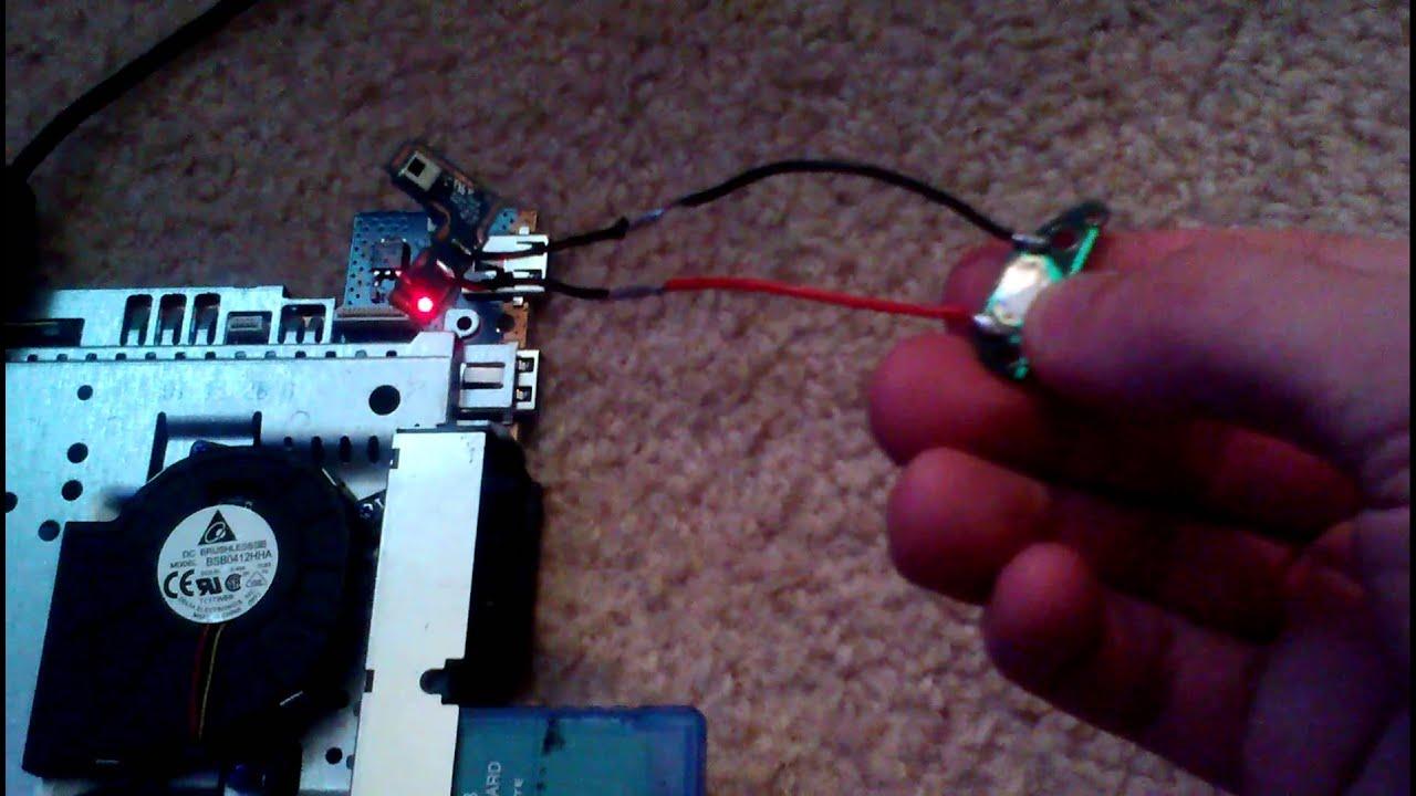 my ps2 handheld power switch fix [ 1280 x 720 Pixel ]