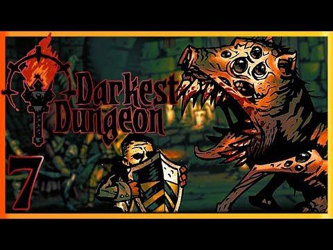Darkest Dungeon Прохождение [7] Босс: Нестабильная Плоть (Темнейшее Подземелье)