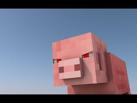 [Minecraft Animation] ¿¡La venganza de los cerdos?!