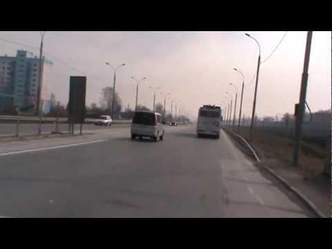 Новосибирск, Троллейбус на батарейках замеры скорости