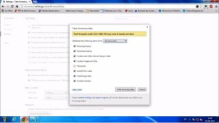 How to delete complete browsing history