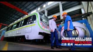 """My China"", says Spanish Project Manager in Changzhou, Jiangsu Province"