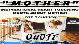 Top 5 Heart Touching Mother Quotes | | FANFO| |short video with music quotes| |