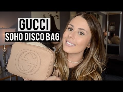 WHAT'S IN MY GUCCI SOHO DISCO BAG? + REVIEW & VISIBLE WEAR ALREADY