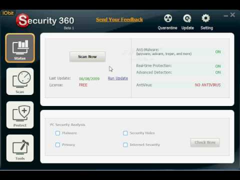 Iobit Security 360 For 100% FREE!