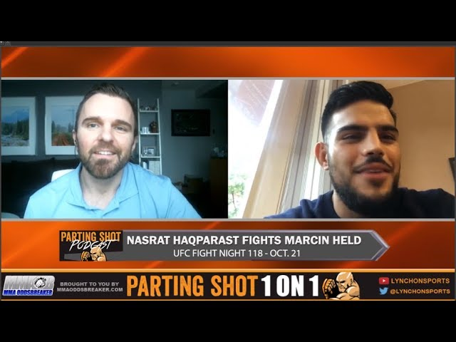 EXCLUSIVE: Nasrat Haqparast talks UFC debut Oct. 21 vs. Marcin Held