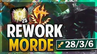¡REWORK MORDEKAISER GAMEPLAY! | ONE SHOT CON LA MAZA! | League of Legends