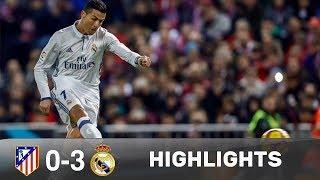 Atletico vs real 0 3   extended highlights   la liga 18 11 2016 hd