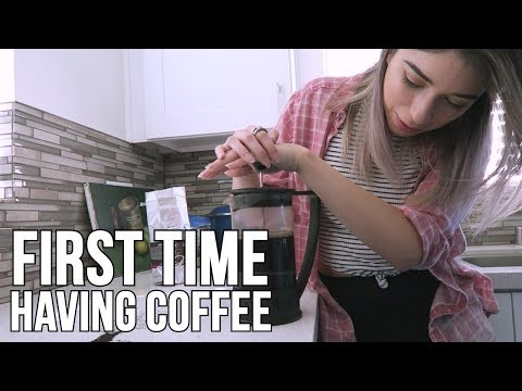 I HAD COFFEE FOR THE FIRST TIME