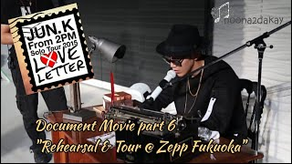 "JUN. K (2PM) - Love Letter solo tour Document Movie part 6 ""…"