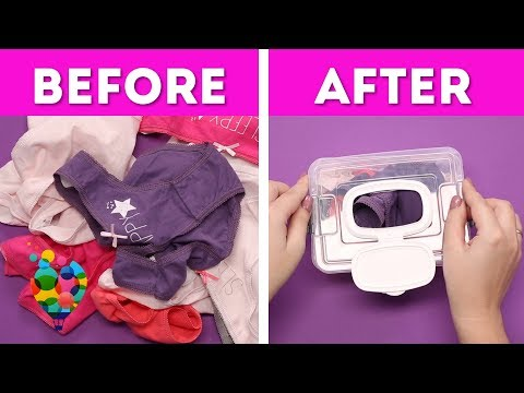 amazing-folding-clothes-hacks!-the-best-way-to-organize-clothes-at-home!-part-2-|-a+-hacks