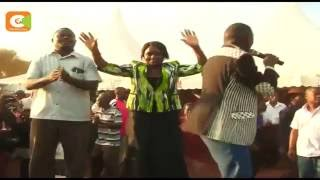 Seneta Lenny Kivuti na mbunge, Cicily Mbarire  wagombania Embu