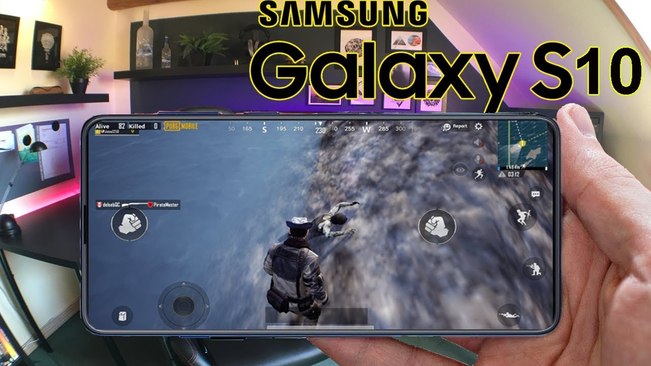Gaming On Samsung Galaxy S10 - PUBG Mobile Ultra HD (120FPS) Gameplay