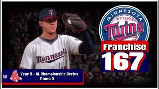 MLB the Show 18 - Minnesota Twins Franchise - Episode 167