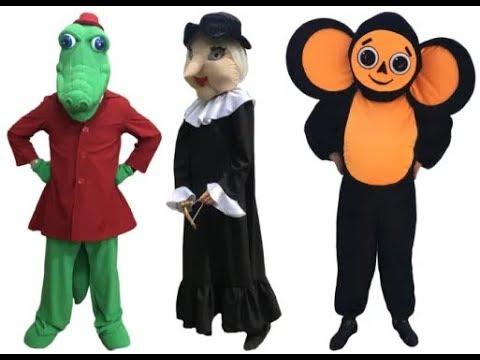 👍 Ростовые куклы костюмы «Крокодил Гена и его друзья» — Магазин GrandStart.ru ❤️