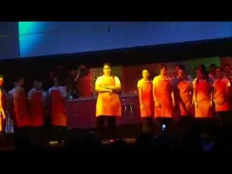 Waiters - A youth Musical by Kathie Hill- IBMORUMBI - a few moments - momentos