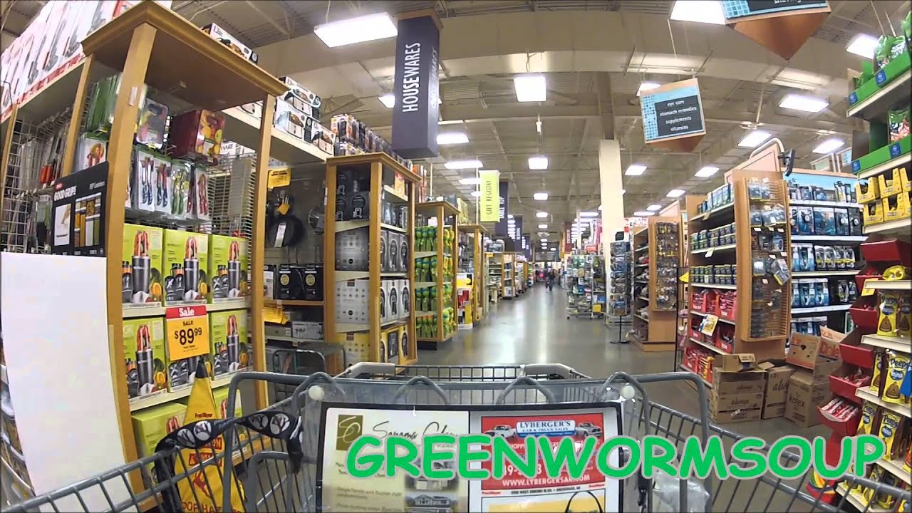 GOPRO - ALASKA FRED MEYER GROCERY STORE - YouTube