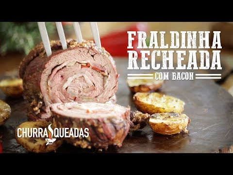 Fraldinha Recheada com Bacon no Mini Peppe®