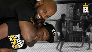KSI does the SHRIMP! - MMA Warm ups | Rule'm Sports