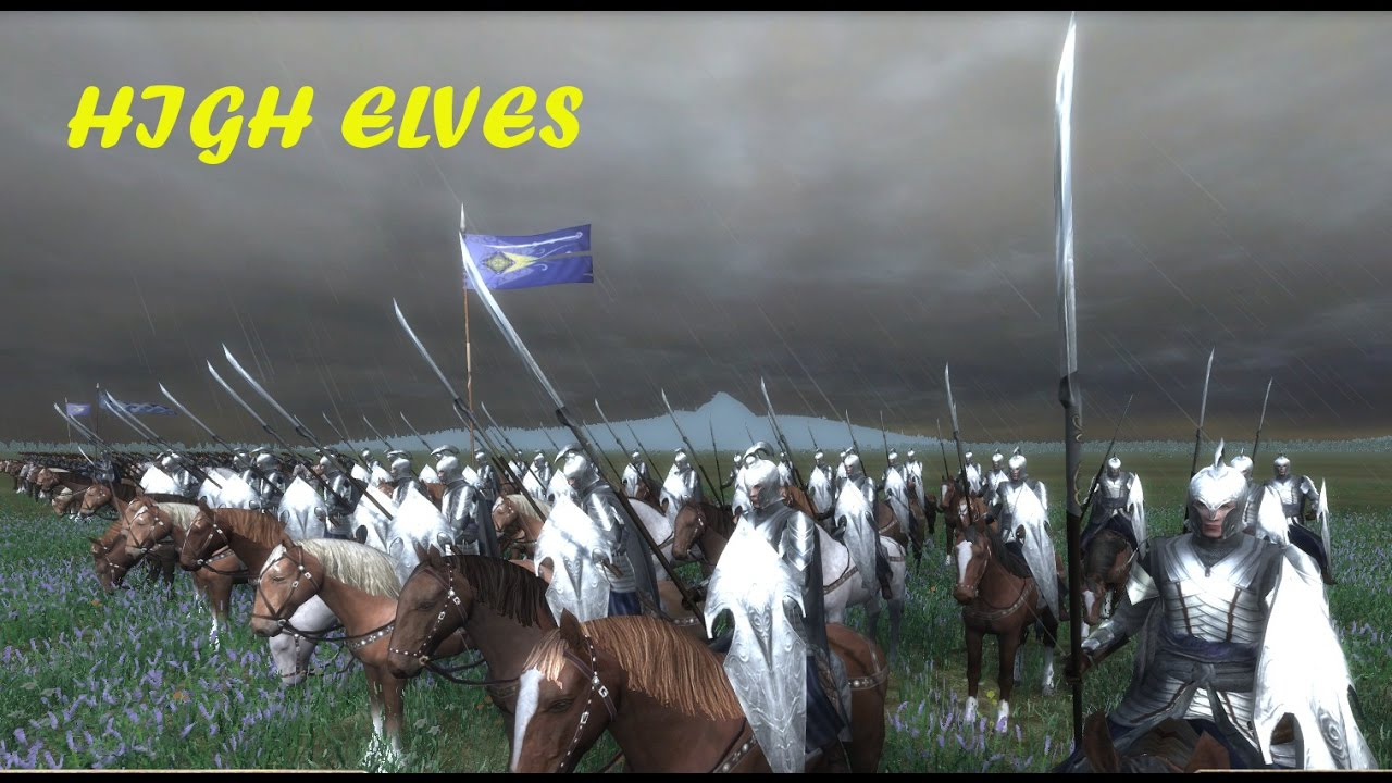 Third Age: Total War - HIGH ELVES FACTION OVERVIEW (MOS Changes)