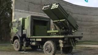 "Testiran raketni sistem ""Morava"""