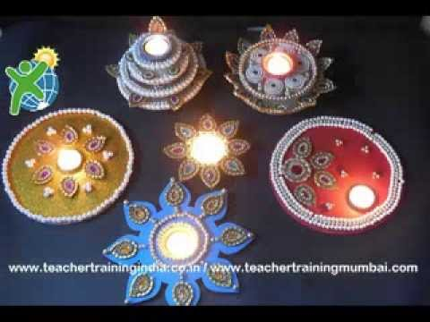Diy diwali wedding decorative items youtube junglespirit Images