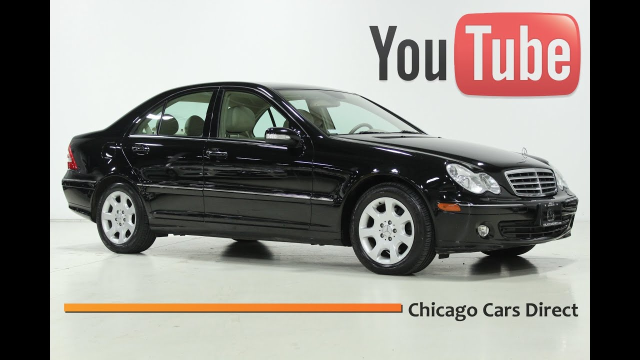 Chicago cars direct presents a 2006 mercedes benz c280 4matic black almond 757944
