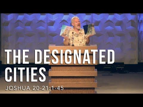 Joshua 20:-21:1-45, The Designated Cities