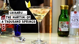 Chiharu   The Martini of a Thousand Springs