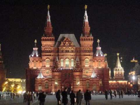 Подмосковные Вечера, Moscow nights, by Russian Red Army Choir