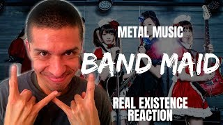 Metal Music: Band Maid - Real Existence (Official Music Video) REACTION
