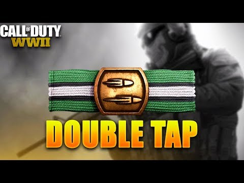 the *NEW* DOUBLE TAP BASIC TRAINING is INSANE in COD: WW2! (COD4 DOUBLE TAP IN COD: WW2)