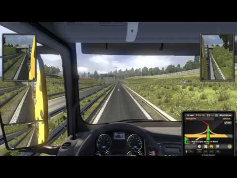 Let's Play Euro Truck Simulator 2 EP 24 Geneve to Torino