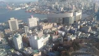 韓国、釜山の釜山タワーです。