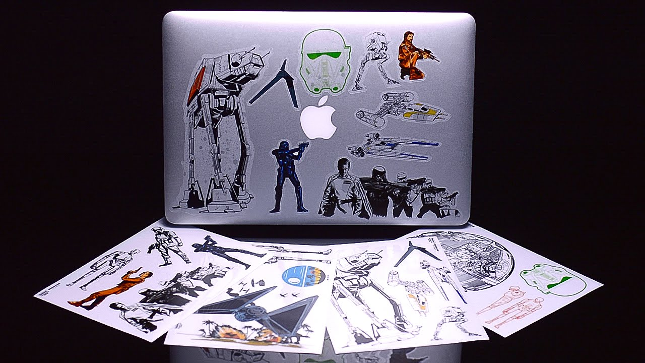 Disney STAR WARS ROGUE ONE Gadget Decals laptops, smartphones and tablets