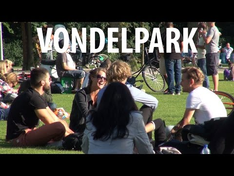 Vondelpark - Amsterdam People Watching
