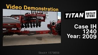 Case Ih 1240, Uptime Ready!, 12/23, Skip Row, Vac Meter Planter Sold On Els!