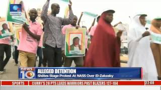 Alleged Detention: Shiites Stage Protest At NASS Over El-Zakzaky