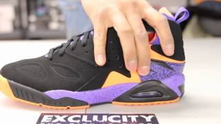 huge selection of 11693 40aaf Nike Air Tech Challenge Huarache - Black - Court Purple - Orange Unboxing  Video at Exclucity