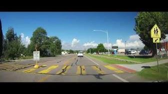 Driving through St. David, Arizona