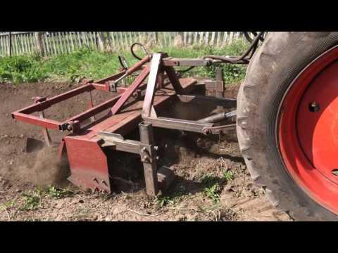 Фреза почвообрабатывающая ФН 2 с гребнем.Для тяжелых почв.