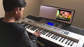 🌹Roja- Choti Si Aasha/ Chinna Chinna Aasai keyboard cover by Hadi