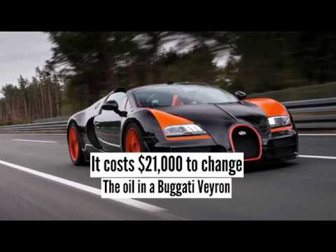 Bugatti Veyron Oil Change Costs 21 000 We Will Explain Why Youtube