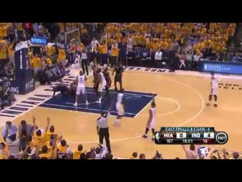 Miami Heat Vs Indiana Pacers - NBA Eastern Conference Finals 5/28/2013 Game 4 Full Highlights
