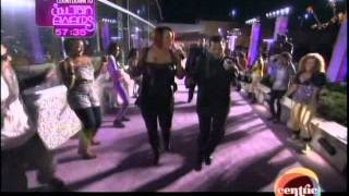 El DeBarge & Faith Evans Performing at The Soul Train Awards Pre-Show