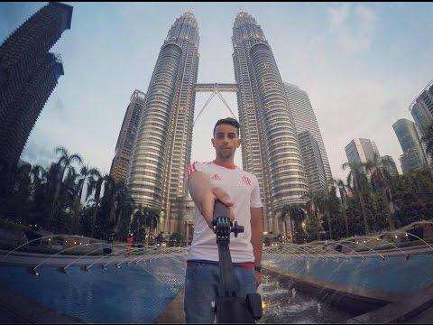 Travel Kuala Lumpur & Singapore GoPro Road Trip