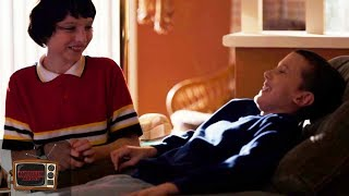 Stranger Things 1x02 | Mike Shows Eleven His Living Room | Clip