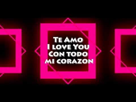 Te Amo Lyric Video (English) - Israel Houghton (ft T-Bone)