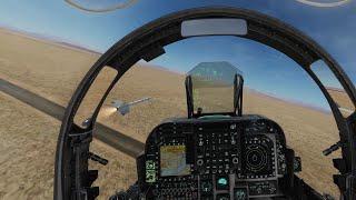 AV-8B N/A Harrier Wild Weasel SEAD Mission In VR | DCS World Online